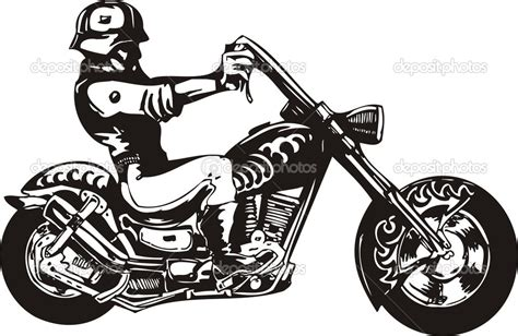 Harley Davidson Clipart Silhouette