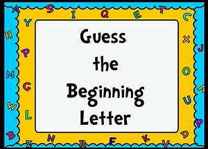 Communication arts whiteboard resources promethean for Guess the letter