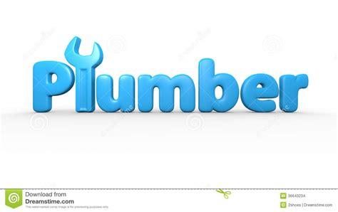plumber text logo stock illustration illustration  leak
