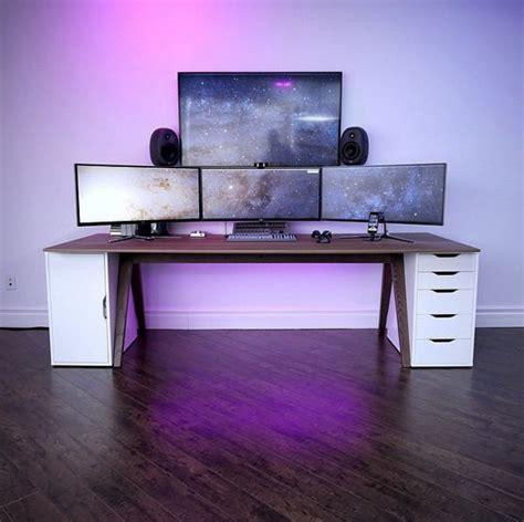 bureau gamer ikea best 25 ikea desk ideas on