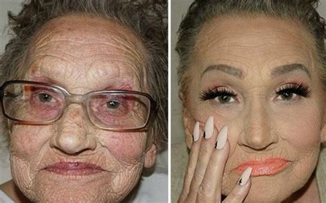 grandmam    years younger  minutes     daily star