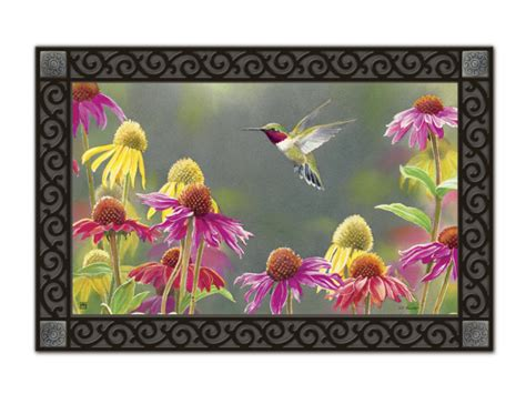 matmates interchangeable doormats hummingbird heaven matmate interchangeable doormat
