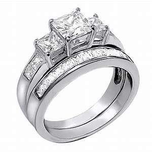 Women tungsten diamond rings wedding promise diamond for Wedding engagement rings for women