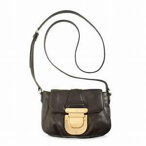 Michael kors Charlton Crossbody Bag in Black | Lyst