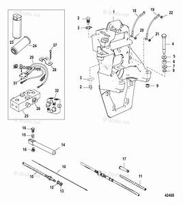 Mercury Mercruiser Sterndrive Parts By Size  U0026 Serial Transom Assemblies Oem Parts Diagram For