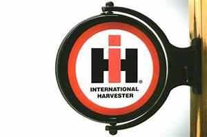 International Harvester motorized Revolving Wall Sign 22
