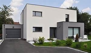 stunning maison cube moderne ideas awesome interior home With plan de maison neuve 1 cube avant tout maisons den france nord