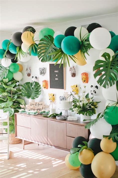 Kara's Party Ideas Jungle 1st Birthday Party Kara's