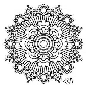 Intricate Mandala Coloring Pages Printable