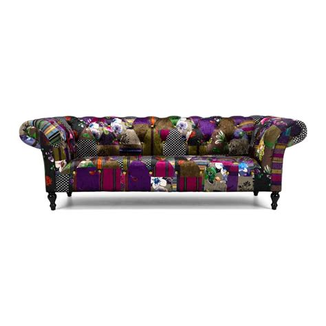 love seat patchwork  seater sofa lounge living