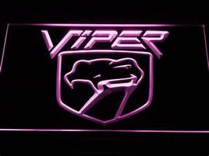 Dodge Viper LED Neon Sign