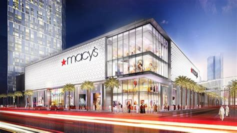 First Overseas Macy's To Anchor Mall With 7,000 Parking