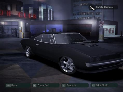 dominic toretto dodge charger  nfs carbon  arsi
