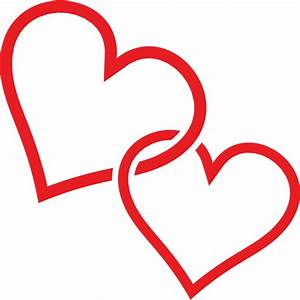 Clip Art Two Hearts | Clipart Panda - Free Clipart Images