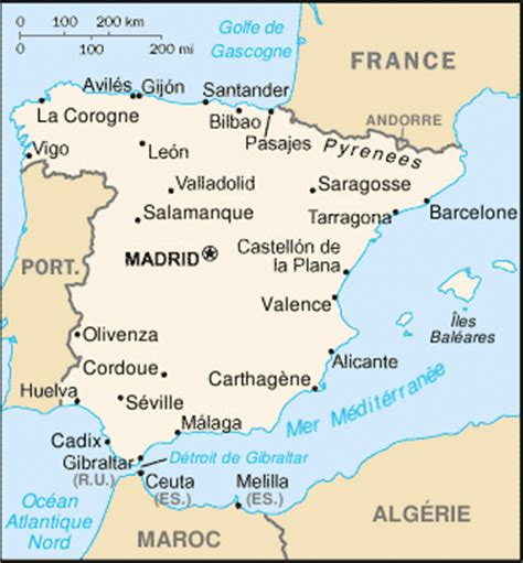 chaine cuisine geographie espagne espagne geographie geographie espagnole