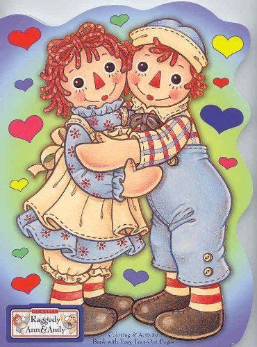 raggedy amp andy hugging coloring amp activity book die 615 | a597d158200acc08692137d63ce91bb4