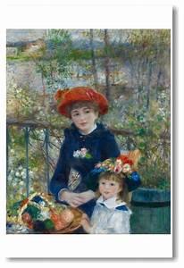 Two Sisters on the Terrace 1881 - Pierre Auguste Renoir ...