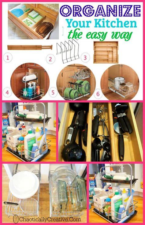 Kitchen Cabinet Organization  Chaotically Creative