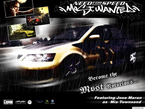 Nfs Most Wanted Black Edition Wallpaper Wwwimgkidcom