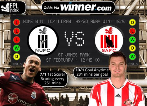 Newcastle vs Sunderland Preview   Team News, Stats and Key ...