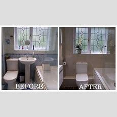 Small Bathroom Total Makeoverrenovation  Youtube