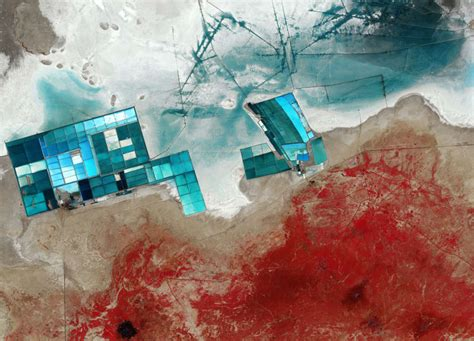 Earth From Space Rann Of Kutch India Spaceref