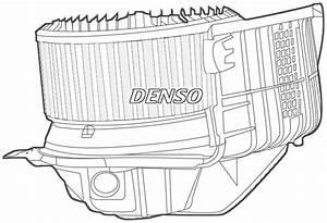 Denso Cabina Ventilador    Motor Para Un Renault Grand