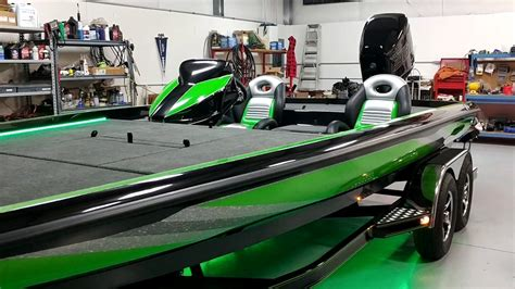 Ballistic Bass Boats For Sale by Green Boat 5
