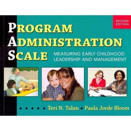 program administration scale measuring early childhood