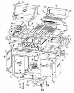 Napoleon Pro450rb Parts List And Diagram