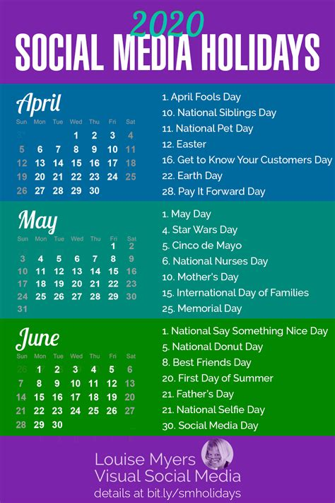 National Food Day Calendar 2018