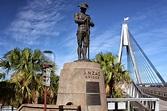 Sydney - City and Suburbs: Anzac Bridge, Anzac Memorial