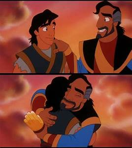 From Aladdin and the King of Thieves Aladdin: After all ...