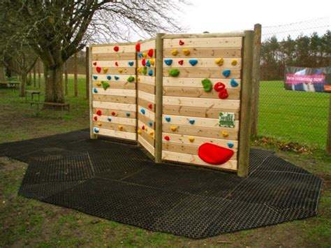 Climbing Wall At Doune Primary School