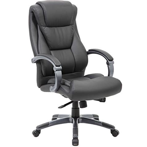 large executive office chair sleek neutral design