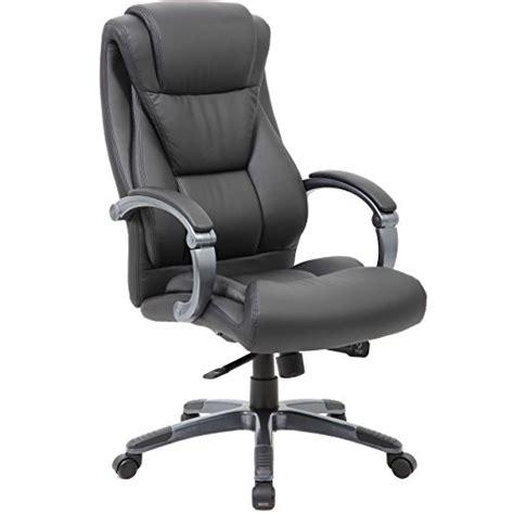 large executive office chair sleek neutral design