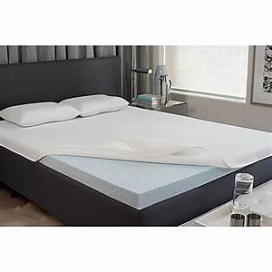 Viscofreshr 2 inch gel memory foam mattress topper bed for Bed bath and beyond gel memory foam mattress topper
