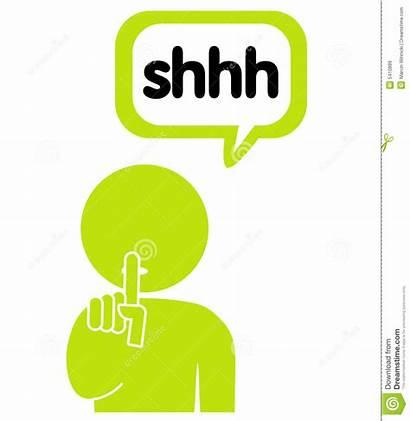 Keep Secret Shhh Quiet Silent Clipart Hush