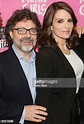Composer Jeff Richmond and wife Book Writer Tina Fey pose ...
