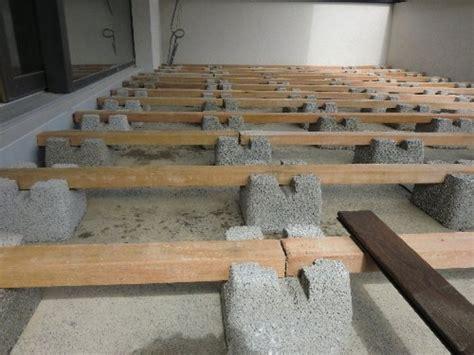 holzterrasse bauen mit dem fundamentstein bodenpflege shop
