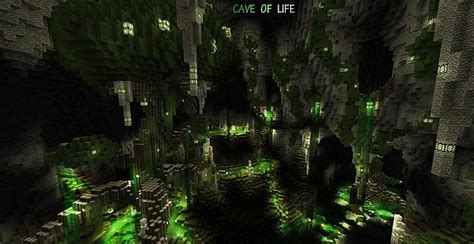 The Cave Of Life (caved In Contest) Minecraft Project