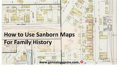 Sanborn Maps Fire Insurance History Genealogy