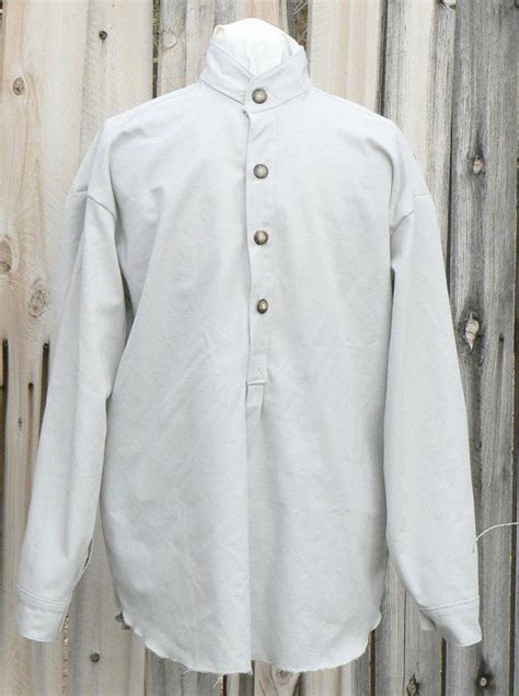 victorian  west cowboy shirt western cotton band collar