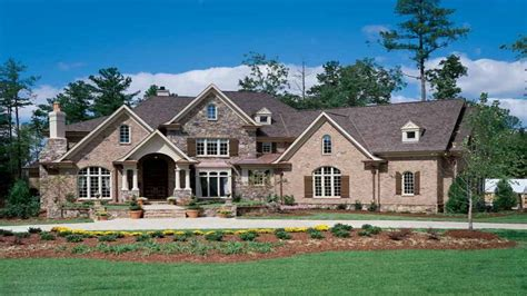 Large New American Brick Home 5 Bedroom 3 Bath Home Plans