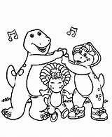 Barney Coloring Pages Printable Printables Birthday Happy Colouring Sheets Books Popular Fun Coloringhome sketch template