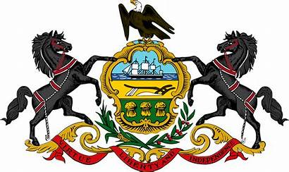 Pennsylvania General Arms Coat Assembly Wikipedia Seal