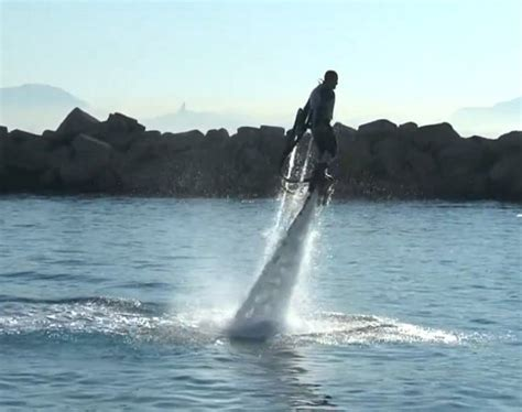 Water-powered Rocket Boots