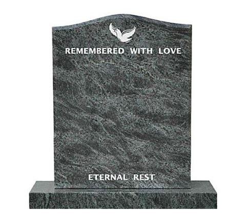 bahama blue granite headstone monuments 75