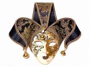 Venetian Mask On Medium Basket Of French Chocolates - Panache