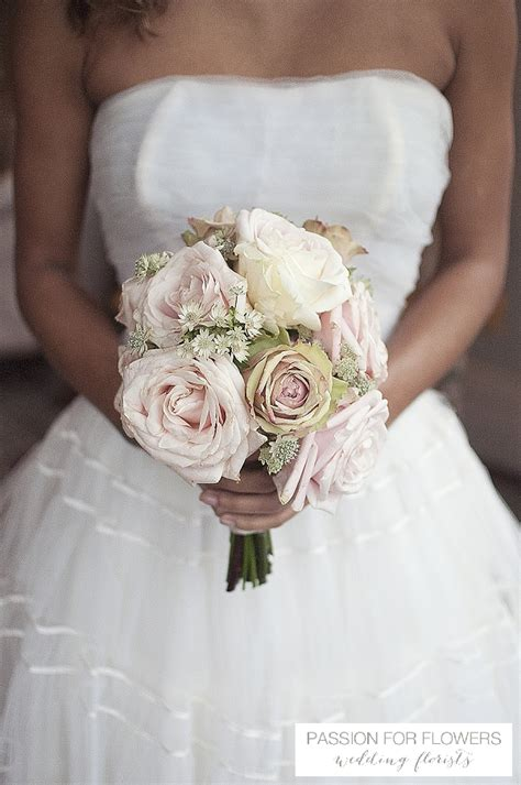 Vintage Roses Wedding Flowers Passion For Flowers
